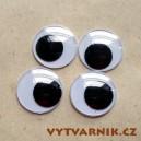 Oči kulaté - 25 mm