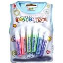 Sada barev na textil - perleťové konturovací