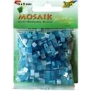 Mozaiková sklíčka - modrý mix 5x5 mm
