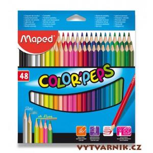 Pastelky Maped Color'Peps 48 kusů