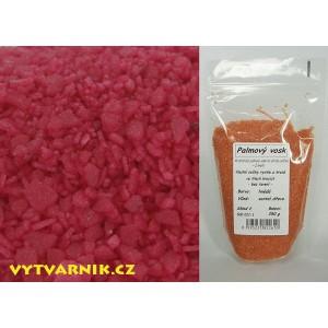 Palmový vosk tmavě červený s vůní jablka a skořice