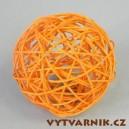 Lata ball 6 cm - oranžová