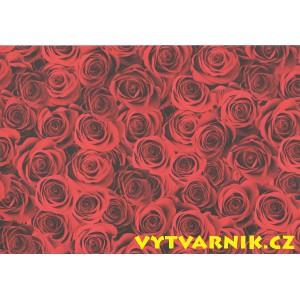 Fotokarton A4 - růže