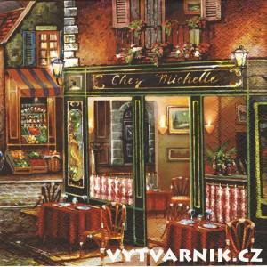 Ubrousek - francouzská kavárna