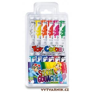 Sada temperových barev Toy Color - 12 x 12 ml