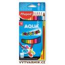 Pastelky Maped Color'Peps Aqua - 12 kusů