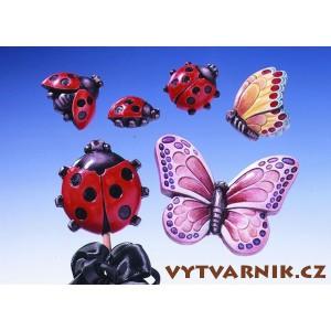 Formička na odlévání - Berušky a motýli