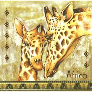 Ubrousek - žirafy