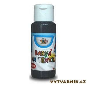 Barva Creatoys Textil - černá