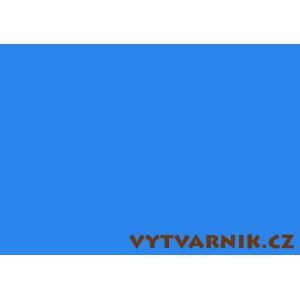 Barevný karton A4 - nebeská modrá