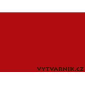 Barevný karton A4 - tmavě červená