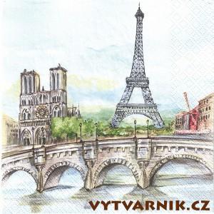 Ubrousek - Paříž