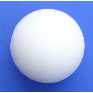 Koule polystyrenová - průměr 70 mm