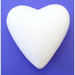 Srdce polystyrenové - 90 mm