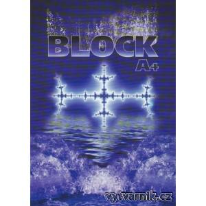 Blok A4 - čistý