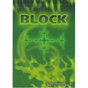Blok A4 - čtverečkovaný
