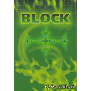 Blok A5 - čtverečkovaný