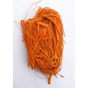 Lýko barvené - oranžové