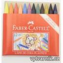Voskovky Faber-Castell - 12 kusů