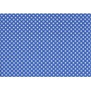 Fotokarton A4 - puntíky modrobílé