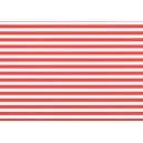 Fotokarton A4 - pruhy červenobílé