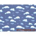 Fotokarton A4 - oblaka