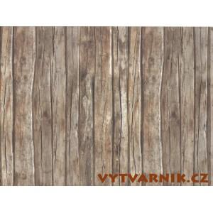 Fotokarton A4 - dřevo