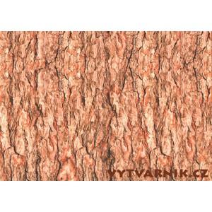 Fotokarton A4 - stromová kůra