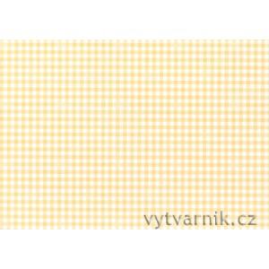 Fotokarton A4 - žluté kostky