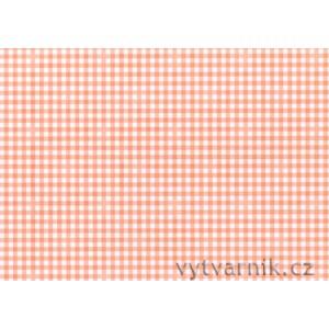 Fotokarton A4 - oranžové kostky
