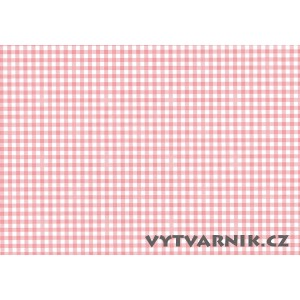 Fotokarton A4 - červené kostky