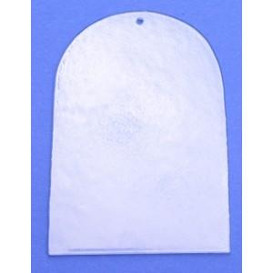 Sklíčko na malování - okno římské A10 (36 x 25 mm)