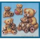 Formička na odlévání - Medvědi