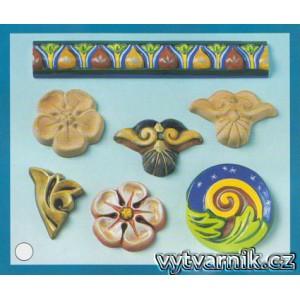 Formička na odlévání - Štukové ornamenty