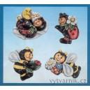 Formička na odlévání - Včelky a berušky
