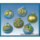 Formička na odlévání - Vánoční koule
