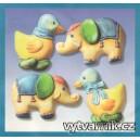 Formička na odlévání - Kachny a sloni