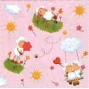 Ubrousek - zamilované ovečky