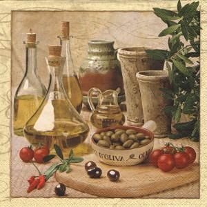 Ubrousek - olivový olej