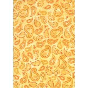 Pauzovací papír  A4 - kašmír žlutý