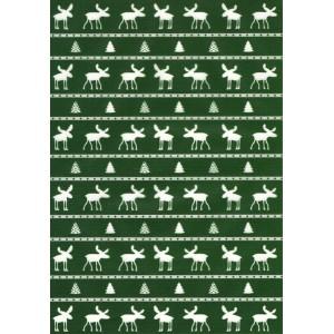 Pauzovací papír  A4 - sob zelený