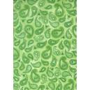 Pauzovací papír  A4 - kašmír zelený