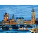 Malování podle čísel - senior - Big Ben