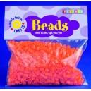 Zažehlovací korálky - oranžové