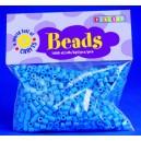 Zažehlovací korálky - modré