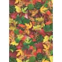 Pauzovací papír  A4 - podzimní listí
