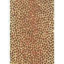 Pauzovací papír  A4 - leopard