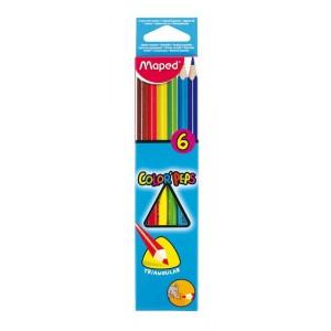 Pastelky Maped Color'Peps 6 kusů
