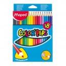 Pastelky Maped Color'Peps 18 kusů