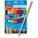 Pastelky Maped Color'Peps 36 kusů